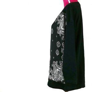 Zara Sweaters - Zara Size Small Bandana Print Long Sweater